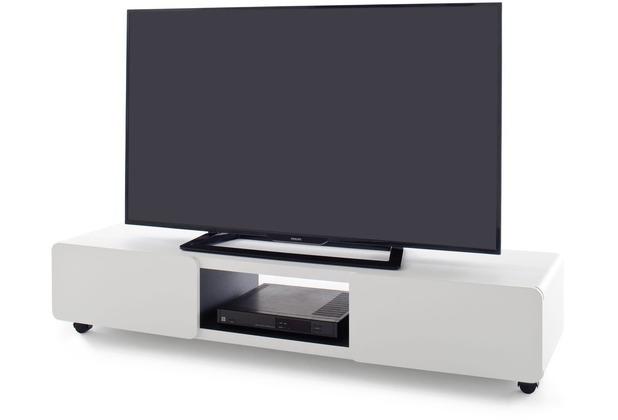 MCA furniture Jeff TV-Lowboard mit 2 Türen und auf 5 Rollen