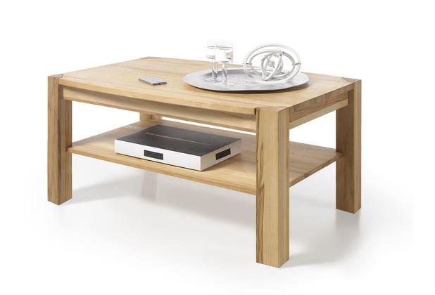 MCA furniture Kalipso Couchtisch Massivholz Asteiche  110 x 55 x 70 cm