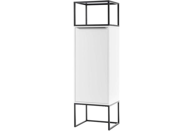 MCA furniture Lille Stauraumelement weiß 1 Tür 50 x 165 x 40 cm
