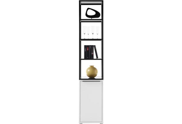 MCA furniture Lille Stauraumelement weiß  40 x 197 x 40 cm