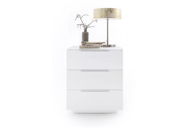 MCA furniture Nola Nachtkommode mit 3 Schubkästen