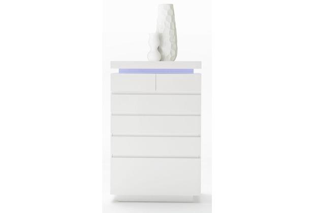 MCA furniture Ocean Hochkommode mit 6 Schubkästen, weiß
