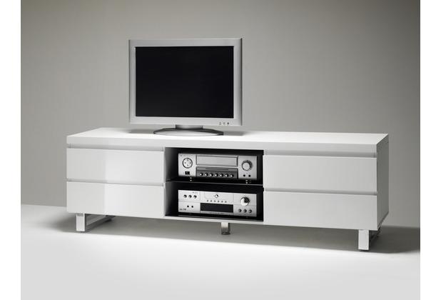 MCA furniture Sydney Lowboard mit 4 Schubkästen und 1 offenen Fach, weiß