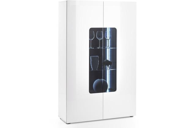 MCA furniture Vicenza Vitrine mit 2 Türen, weiß