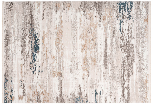 me gusta Teppich Akropolis 325 Grau / Blau 120 x 180 cm