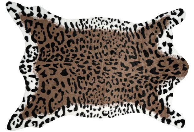 me gusta Teppich Desert 325 Braun / Weiß 160 x 230 cm