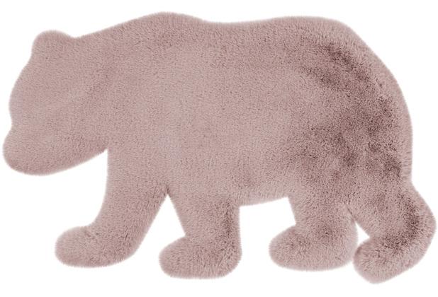 me gusta Kinderteppich Lovely Kids 225-Bear Rosa 53 x 90 cm
