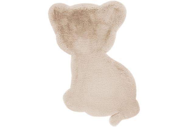 me gusta Kinderteppich Lovely Kids 425-Tiger Creme 69 x 90 cm