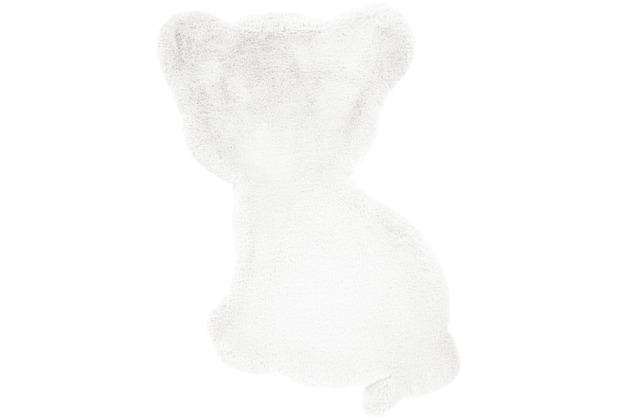me gusta Kinderteppich Lovely Kids 425-Tiger Weiß 69 x 90 cm