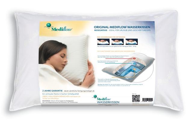 Mediflow 1041 Original Wasserkissen in Reisegröße 34 x 53 cm