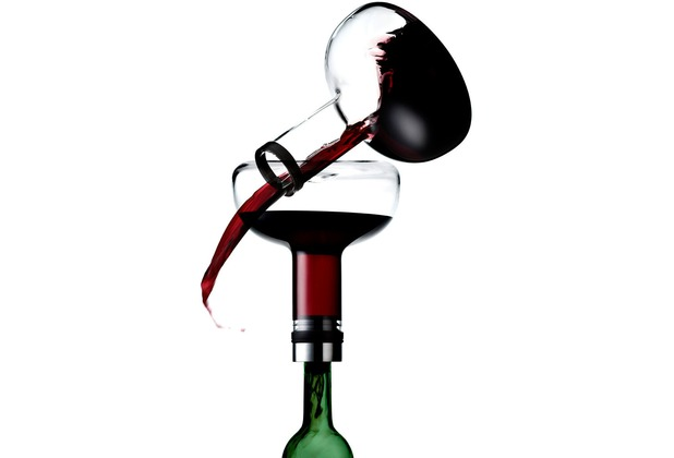 menu Weindekantierkaraffe