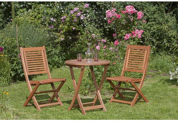 merxx Gartenmöbel Set Cordoba runder Tisch