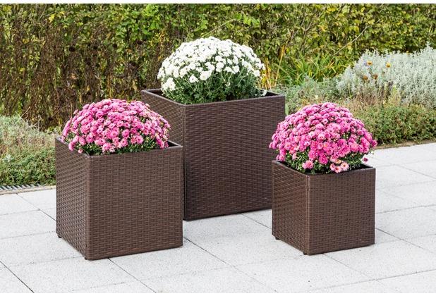 merxx Blumenkübelabdeckung 32 x 32 x 32 cm
