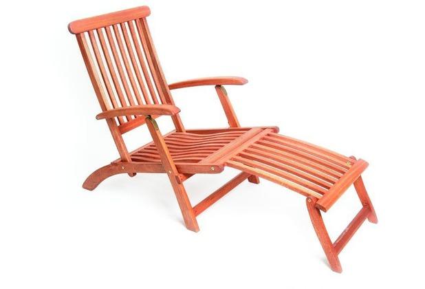 merxx Deckchair, klapp- und verstellbar Gartenliege