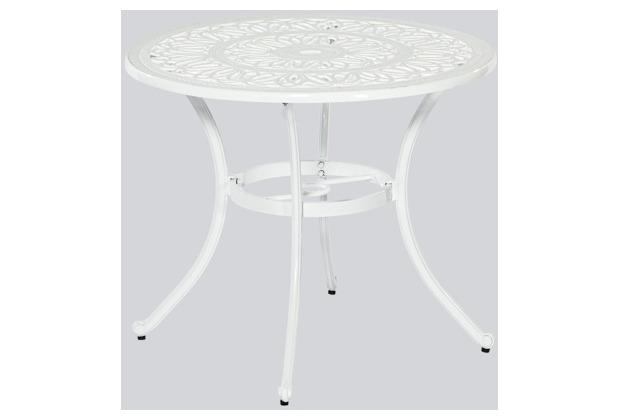 merxx Lugano Tisch, weiß, Ø 95 cm