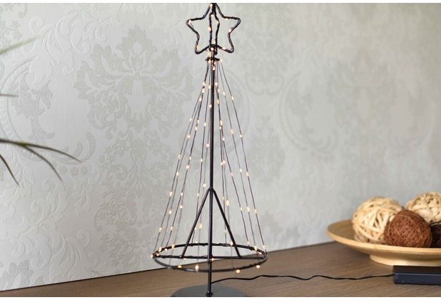 merxx Metall Baum 85 LED, IP 20, 15x15x45cm