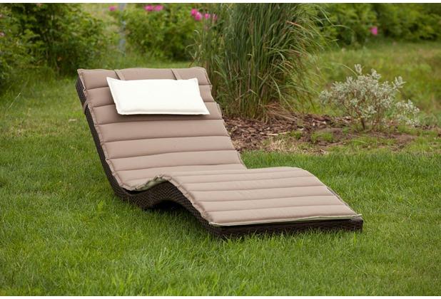 merxx Gartensideboard für den Spültisch Kunststoffgeflecht