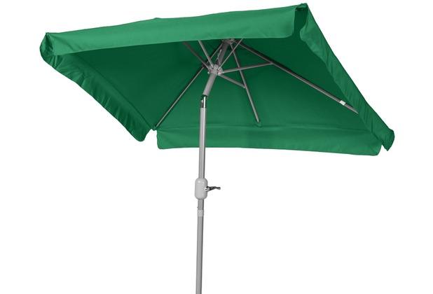 merxx Schirm 160 x 230 cm, 38 mm Rohr, grün
