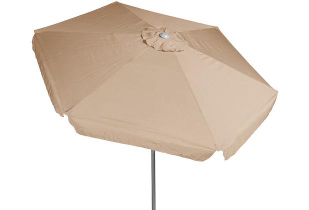 merxx Schirm, Ø 180 cm, 38 mm Rohr, beige