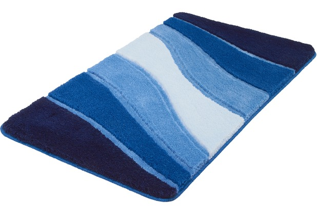 Meusch Bad-Teppich Ocean Royalblau 70 cm x 120 cm