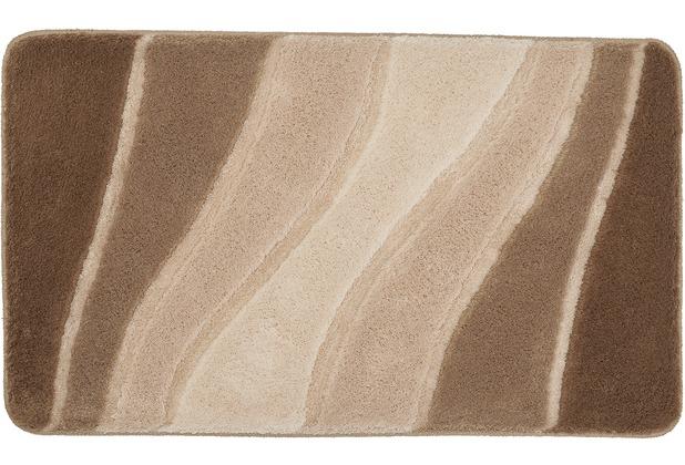 Meusch Bad-Teppich Ocean Taupe 70 cm x 120 cm