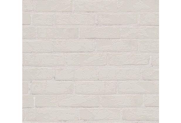 Michalsky Living Mustertapete in Backsteinoptik High Rise Vliestapete beige grau 10,05 m x 0,53 m