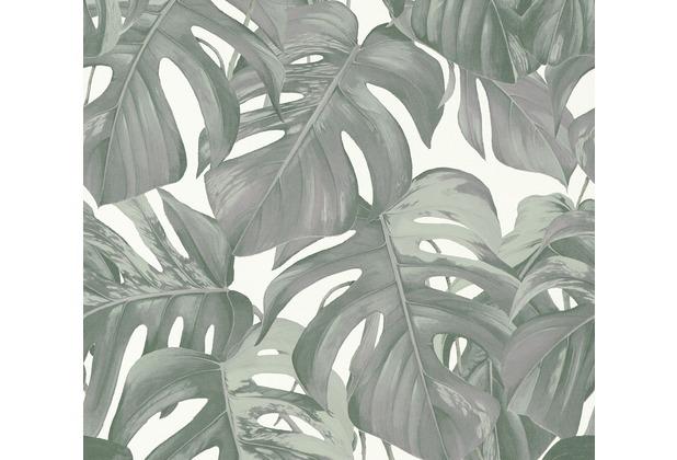 Michalsky Living Vliestapete Dream Again Tapete floral grün weiß grau 365191 10,05 m x 0,53 m
