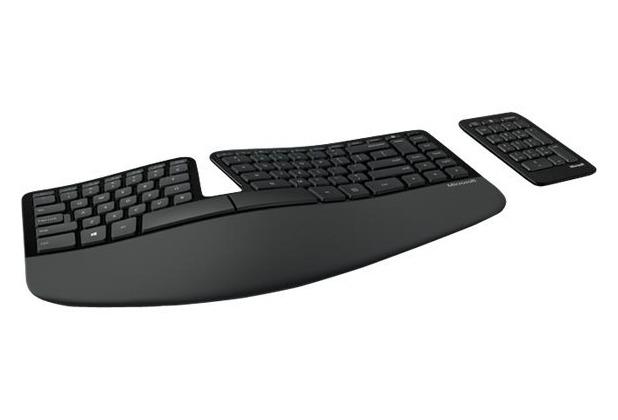 Microsoft SCULPT Ergonomic Keyboard für PC (USB)