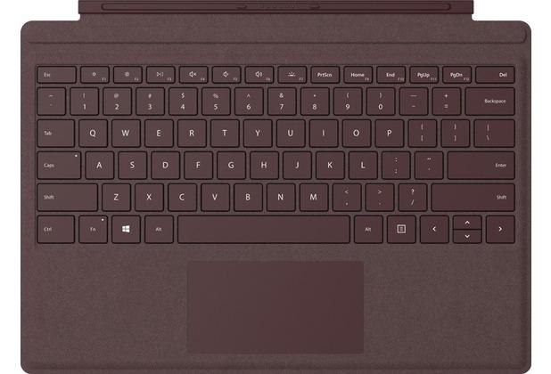 Microsoft Surface Pro Signature Type Cover (QWERTZ) Bordeauxrot
