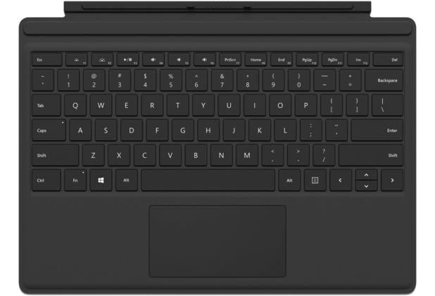 Microsoft Surface Pro Type Cover (QWERTZ) schwarz
