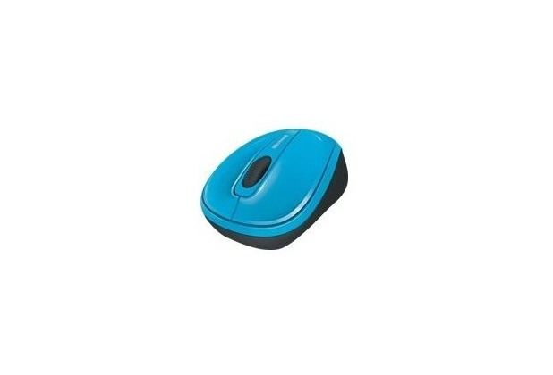 Microsoft Wireless Mobile Mouse 3500 - blau - GMF-00271 für PC