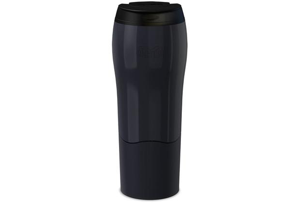 mightymug Mighty Mug Standfester Thermobecher, schwarz