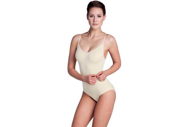 Miss Perfect Bauchweg Body Body Shaper Miederbody figurformend Champagner L (42)
