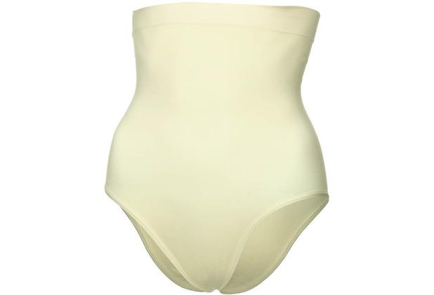 Miss Perfect Bauchweg Unterhose Body Shaper seamless Miederhose Hose nahtlos & formend Champagner L (42)
