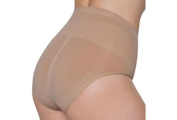 Miss Perfect Bauchweg Unterhose Body Shaper seamless Miederhose nahtlos & formend Haut L (42)