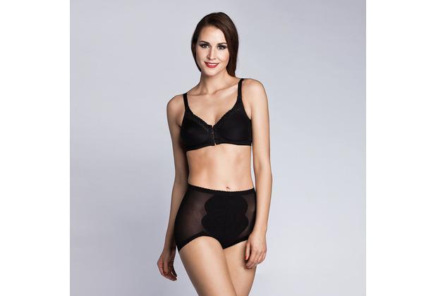 Miss Perfect Body Trim Feintüll Miederhose Hose Miederhose Bauchweg Unterhose Bauchweg Slip Unterwäsche Schwarz 70