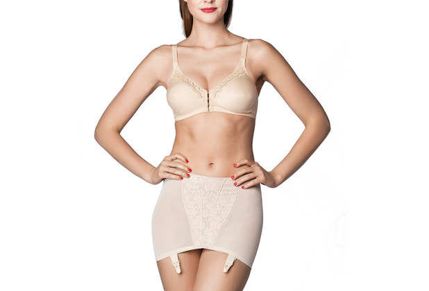 Miss Perfect Body Trim Hüfthalter stark formend Strumpgürtel Strumpfhalter Miedergürtel Strapsgürtel Hüftgürtel Powernet Haut 75