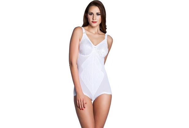 Miss Perfect Body Trim Korselett stark formend Shape Body figurformend Shaping Body Unterwäsche Weiß 80B
