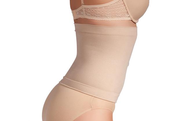 Miss Perfect Form & Funktion Taillenformer Bauchweg Body Shaper Korsett Waist Trainer Korsage Haut L (42)