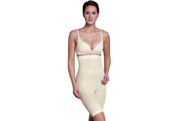 Miss Perfect Miederhose Body Shaper Bauchweg Unterhose figurformend Champagner 2XL (46)