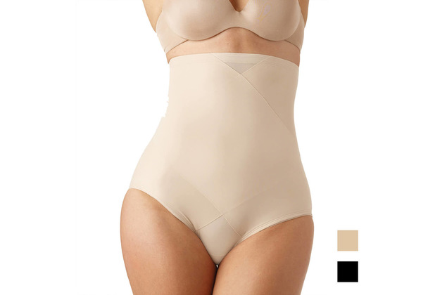 Miss Perfect TC Shapewear Damen - Bauchweg Unterhose Body Shaper - Tummy Tux Extra Firm Control Haut L (42)