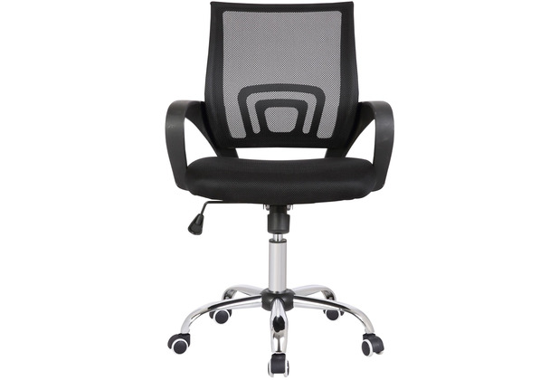 Möbilia Bürostuhl, schwarz/grau schwarz/grau, silber 14020002