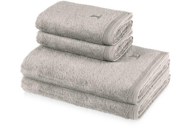 möve 4er Handtuch Set Superwuschel cashmere Handtuch 50 x 100 cm & Duschtuch 80 x 150 cm