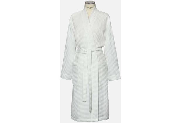 möve Bademantel Basic Waffelpiquee Kimono snow L