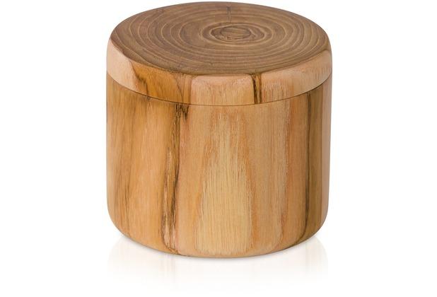 "möve Dose klein \""Teak\"" wood"