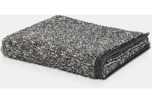 möve Duschtuch Brooklyn Melange nature/black 80 x 150 cm