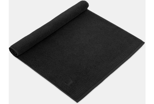 """möve Duschvorlage \""""Superwuschel\"""" black 50 x 70 cm"""