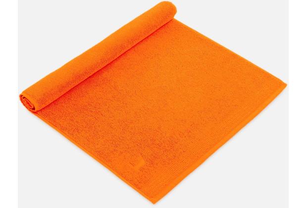 möve Duschvorlage Superwuschel red orange 50 x 70 cm