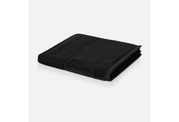 möve Handtuch Bamboo Luxe black 50 x 100 cm