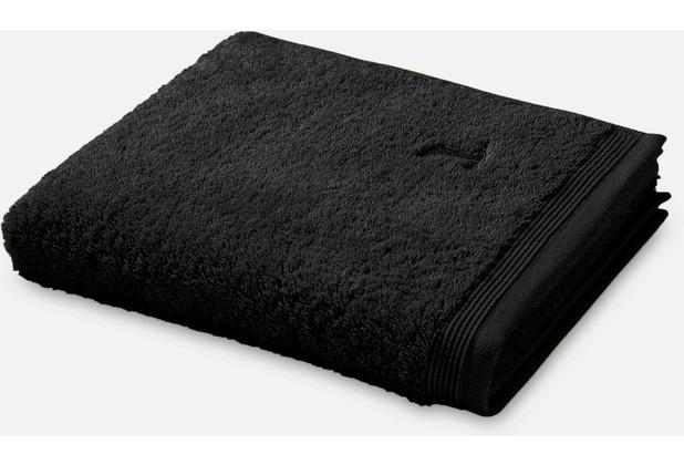 möve Handtuch Superwuschel black 50 x 100 cm